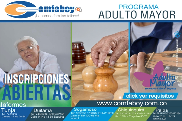 adulto mayor convocatoria web